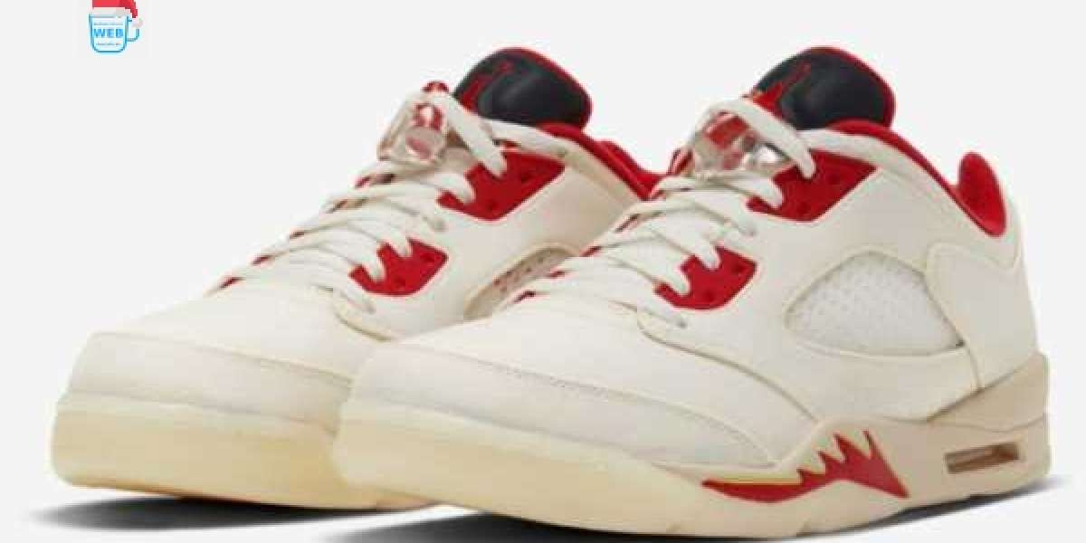 """When Will The Air Jordan 5 Low """" Chinese New Year"""" DD2240-100 Shoes Be Released ?"""