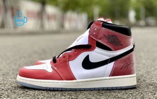 Trophy Room x Air Jordan 1 High OG White/Varsity Red-Sail-Black For Sale DA2728-100