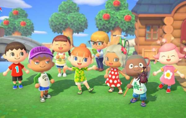 Recreated Traverse Town in Animal Crossing!