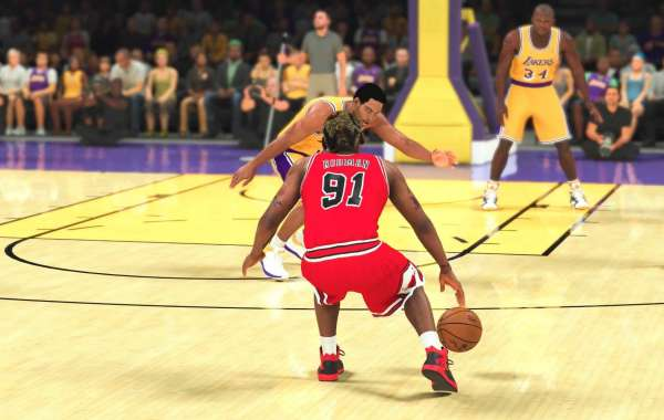 There's an open multiplayer lobby for NBA 2K21