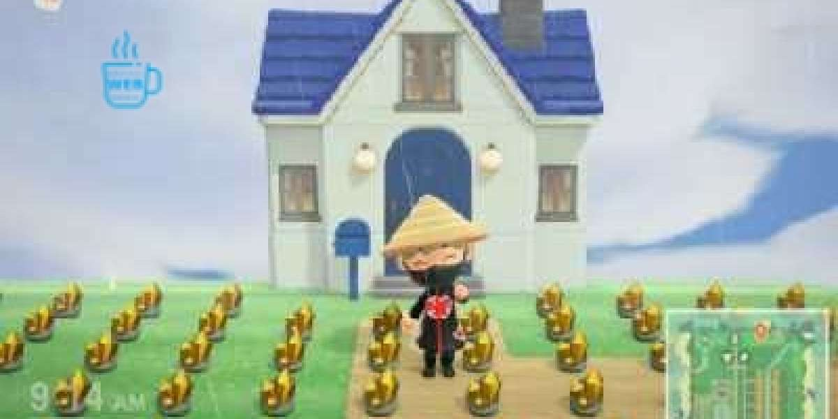 You can make enough cash to Animal Crossing Bells