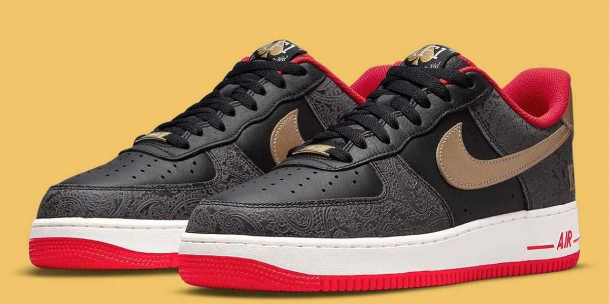 """The Nike Air Force 1 Low """"Spades"""" DJ5184-001 Fast Shipping"""