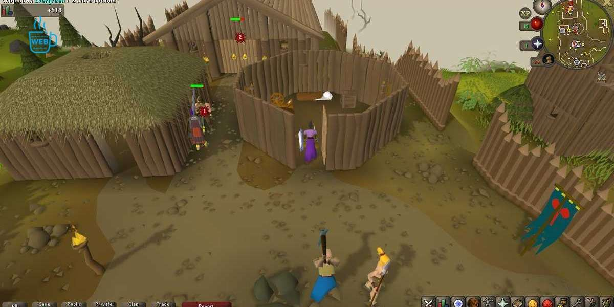 That is an ideal training place for RuneScape