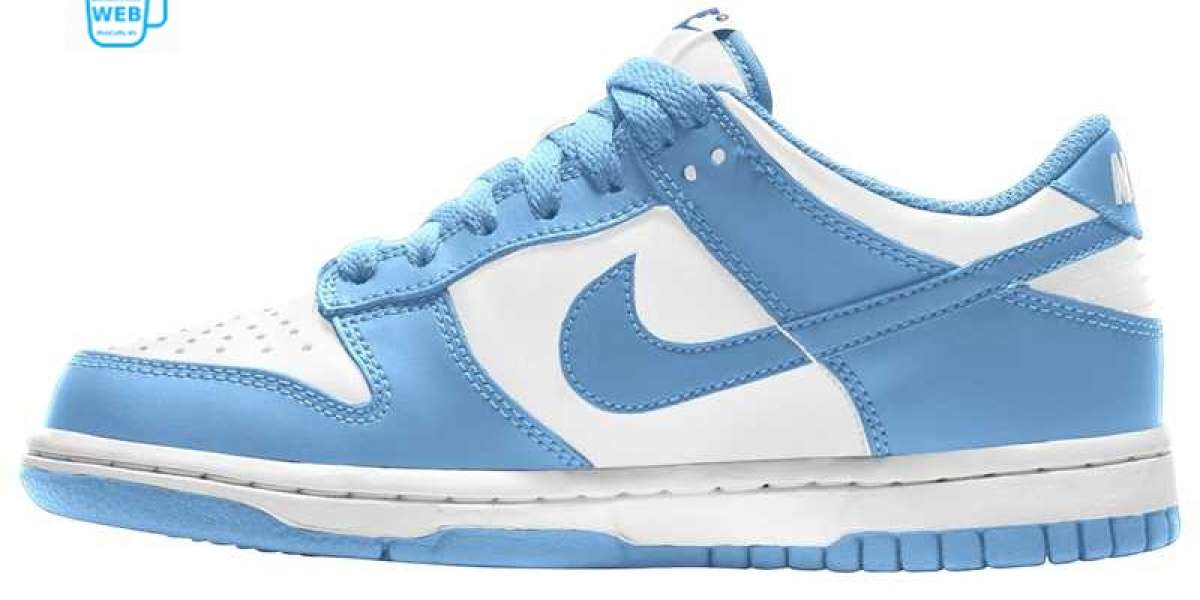 """Are you in love! The new Nike Dunk Low """"University Blue"""" DD1391-102 Fast shipping"""
