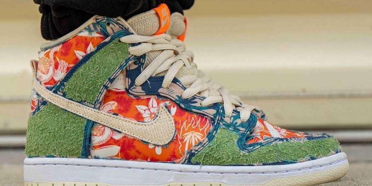 "CZ2232-300 Nike SB Dunk High ""Hawaii"" Release Information"