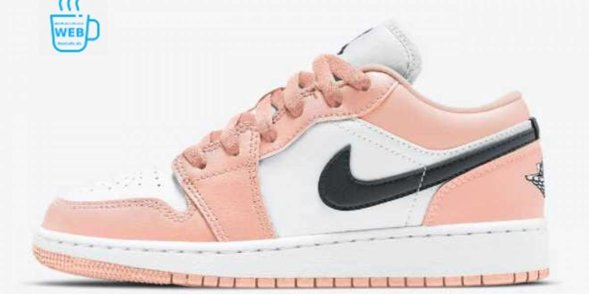 Hot Sale Air Jordan 1 Low GS Light Arctic Pink In Jordansaleuk.com